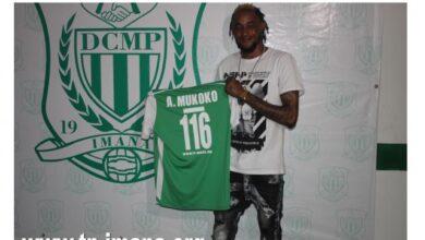 Photo of Mukoko Amale recordman avec 116 matches au Dcmp en championnat