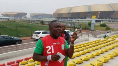 Photo of Otis Ngoma de retour à kinshasa.
